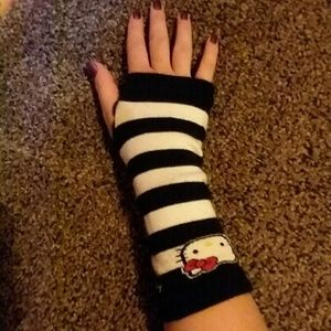 1f131bbec Claire's Accessories   Hello Kitty Fingerless Gloves   Poshmark